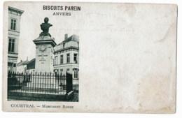 Kortrijk  Courtrai  Monument Robbe - Kortrijk