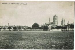Ieper Ypres L'entree De La Ville - Ieper