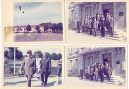 Lot 14 Photo Militaire état Major 402e RAA Régiment Artillerie Anti Aérienne à LAON Quartier Foch ( Année 1966 à1976 ) - Personnages