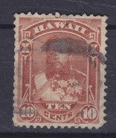 Hawaii 1883 Mi. 30    10c. King König Kalakaua - Hawaii