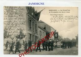 JAMOIGNE-Procession Du Sacre Coeur-Periode Guerre 14-18-1WK-BELGIQUE-BELGIEN- - Chiny