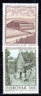 FAEROER FAROER FOROYAR 1978 - La Serie  N. 33/34  ***  MNH  Biblioteca - Isole Faroer