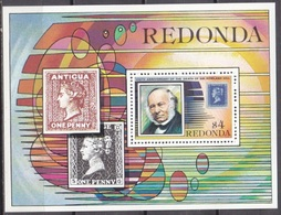 1979Redonda29/B3100 Years Of Rowland Hill 6,00 € - Rowland Hill