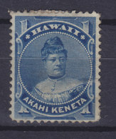 Hawaii 1882 Mi. 24    1c. Prizessin Likelike MH* - Hawaii