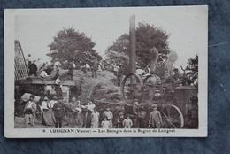 Rouillé 86480 Battages Au Grand Breuil 079CP02 - Frankrijk
