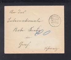 D. Reich Elsass Brief 1941 Gebweiler - Germania