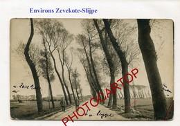 SINT PIETERS KAPELLE-CARTE PHOTO Allemande-GUERRE 14-18-1WK-BELGIQUE-BELGIEN- - Herne