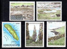 FAEROER FAROER FOROYAR 1987 - La Serie  N. 148/152  ***  MNH    (2380A)  Hestur - Isole Faroer