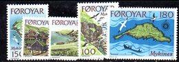 FAEROER FAROER FOROYAR 1978 - La Serie  N. 25/29  ***  MNH    (2380A) - Isole Faroer