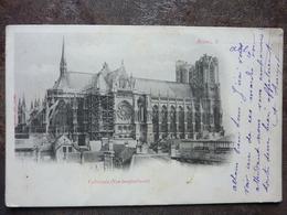 REIMS  Cathédrale  Vue Longitudinale   TBE - Reims