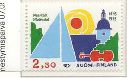 """PIA  - FINLANDIA  -  1993  : """"NORDEN"""" - Turismo Nelle Regioni Nordiche - (Yv  1176-77) - Vacanze & Turismo"""