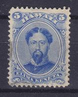Hawaii 1882 Mi. 29a    5c. King König Kamehameha - Hawaii