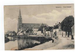 Zelzate  Selzaete. Oud Kanaal 1912 - Zelzate