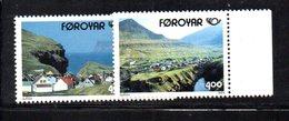 FAEROER FAROER FOROYAR 1993 - La Serie  N. 242/243  ***  MNH    (2380A)  Norden - Isole Faroer