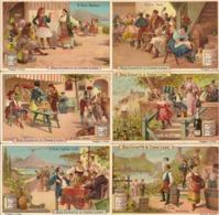 """(FI).Figurine Liebig.Serie""""Il Vino"""".1895.Unificato N° 465.Val. 69,00 (27-a19) - Liebig"""