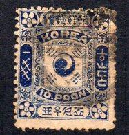 Sello   Nº 7 Corea - Corea (...-1945)