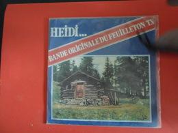 VINYLES   45 T  Bande Originale Du Feuilleton Télévisé   Heidi - Filmmusik