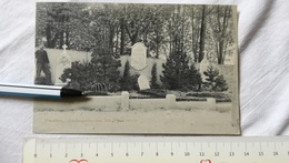 WWI Vouziers Kriegergraber War Cemetery 1914 FRANCE FRENCH ARMY POSTCARD CARD POSTKARTE CARTE POSTALE PHOTO GERMANY Feld - Oorlog 1914-18