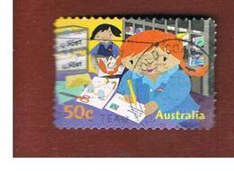 AUSTRALIA  -  SG 2654  - 2006 POSTIE KATE: SORTING MAIL  -   USED - Usati
