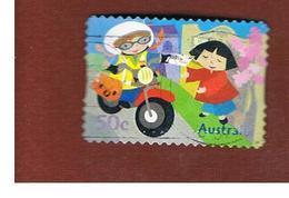 AUSTRALIA  -  SG 2655  - 2006 POSTIE KATE: ON MOTORCYCLE    -   USED - Usati