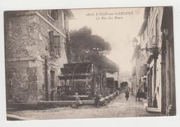 BO166 - L'ISLE SUR SORGUE - Rue Des Roues - L'Isle Sur Sorgue