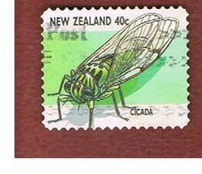 NUOVA ZELANDA (NEW ZEALAND) - SG 2109  -  1997   INSECTS:  CICADA             -  USED° - Nuova Zelanda