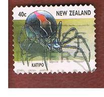 NUOVA ZELANDA (NEW ZEALAND) - SG 2112  -  1997   INSECTS:  KATIPO           -  USED° - Nuova Zelanda