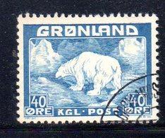 APR119 - GROENLANDIA 1938 , Unificaton. 8  Usato    (2380A) - Isole Faroer