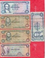 Jamaique 10 Billets Dans L 'état - Jamaica