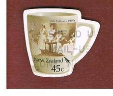 NUOVA ZELANDA (NEW ZEALAND) - SG 2786   -  2005  CAFE' CULTURA 1910   -  USED° - Nuova Zelanda