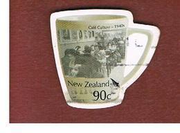 NUOVA ZELANDA (NEW ZEALAND) - SG 2787   -  2005  CAFE' CULTURA 1940   -  USED° - Usati