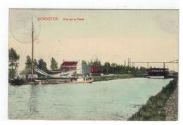 SCHOTEN  SCHOOTEN  Vue Sur Le Canal 1912 - Schoten