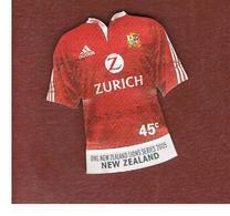 NUOVA ZELANDA (NEW ZEALAND) - SG 2798   -  2005  RUGBY: RED   -  USED° - Nuova Zelanda