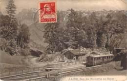 Suisse - Gare Des Marécottes Sur Salvan (cachet Ouvert Par L'autorité Militaire) - VD Waadt