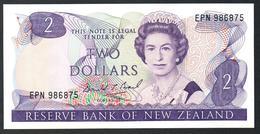 New Zealand 2 Dollars 1989 UNC - Nuova Zelanda