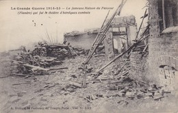 59. MILITARIA. GUERRE14-18 .. LA FAMEUSE MAISON DU PASSEUR FLANDRE QUI FUT LE THÉÂTRE D'HÉROÏQUES COMBATS - War 1914-18
