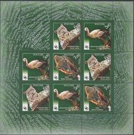 Russia, 2007, Mi. 1434-36, Y&T 7013-15, Sc. 7048a, SG 7498-7500, WWF, Stork, Bisoin, Snow Panter, MNH - 1992-.... Federación
