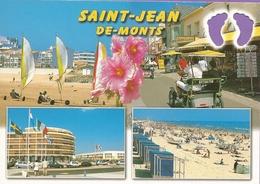85 - Carte à Trou,SAINT JEAN DE MONTS (pied) - Saint Jean De Monts