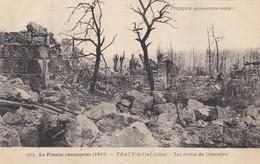 60. TRACY LE VAL. GUERRE14-18 .. LES RESTES DU CIMETIERE - War 1914-18