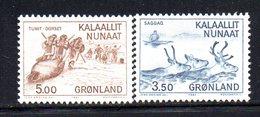APR71 - GROENLANDIA 1981 , Unificato N. 119/120  ***    (2380A) - Isole Faroer