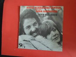 VINYLES   45 T  David Alexendre Winter Et Seda Aznavour  Rien Que Nous  Du Film Sapho - Filmmusik