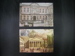 "BELG.1982 2034 & 2035 FDC Maxicards : "" Conservatoire Royal De Musique & Rechterlijke Macht 150 Jaar/ans "" - FDC"