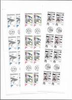 1997 MNH  Ceska Republika, Booklets Mi 153-5 - Czech Republic