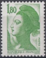N° 2375 A - X X - Sans Phosphore - ( F 355 ) - 1982-90 Liberty Of Gandon