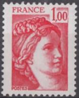 N° 1972 C - X X - Sans Phosphore Gomme Tropicale - ( F 87 ) - 1977-81 Sabine Of Gandon