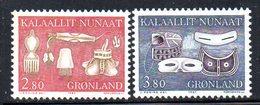 APR259 - GROENLANDIA 1987 , Unificato N. 164/165  ***    (2380A) - Isole Faroer