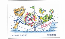 2000 MNH  Ceska Republika, Booklets Mi  248 MH82 - Tchéquie