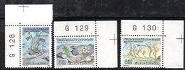 APR318 - GROENLANDIA 1990 , Unificato N. 193/195  ***    (2380A) - Isole Faroer