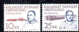 APR376 - GROENLANDIA 1990 , Unificato N. 197/198  ***    (2380A) - Isole Faroer
