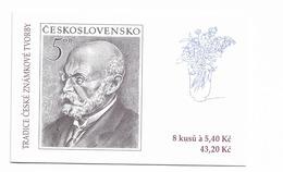 2001 MNH  Ceska Republika, Booklets Mi  281 MH91 - Tchéquie